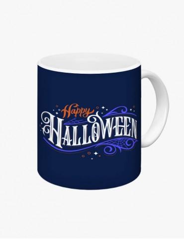 Happy Halloween Model 2 - Cana Albă