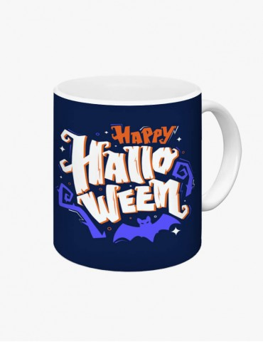 Happy Halloween Model 3 - Cana Albă