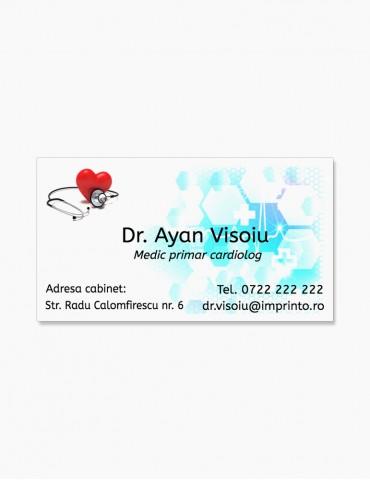 Carti de Vizita 100 buc. - Model Doctor