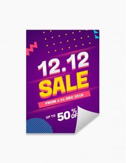 Poster A2 - 420 x 594 mm - Vertical