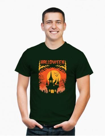 Casă Bântuită - Tricou Bărbat Halloween