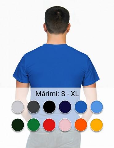 Tricou personalizat barbat - colorat, fata verso, cu livrare rapida in toata Romania  | Imprinto