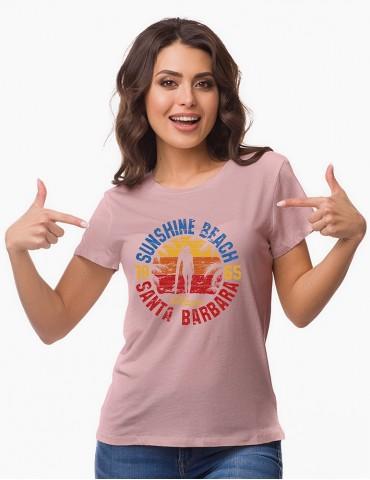 SUNSHINE - Tricou personalizat dama cu model