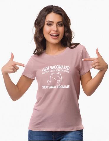 VACCIN - Tricou personalizat dama cu model