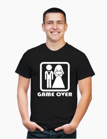 GAME OVER - Tricou personalizat barbat cu model